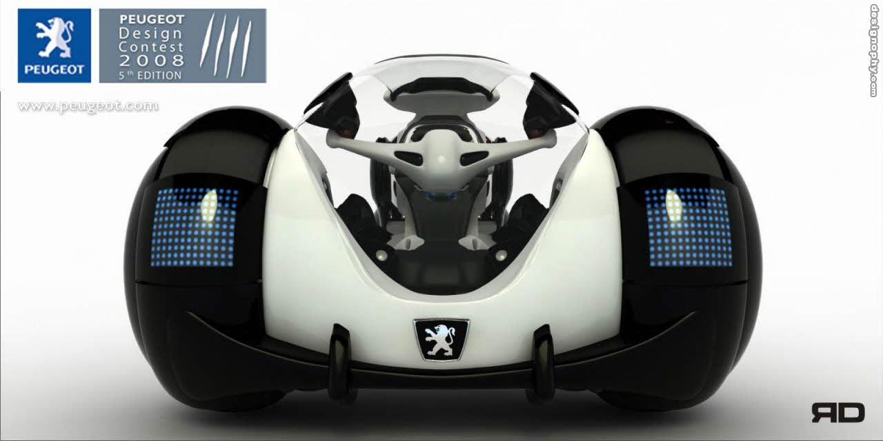 Colombian student Carlos Torres, Winner of Peugeot Design Contest 2008