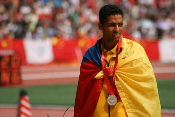 Elikin Serna, Silvere Medalist in Paralympics Paralympic Games