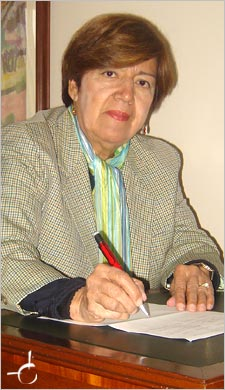 Nubia Muñoz nominated for the Nobel Prize for Physiology and Medicine 2008